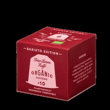 Peter Larsen Espresso Supreme økologisk - 10 kapsler til Nespresso®