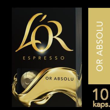 L'OR Espresso Or Absolu - 10 kapsler Til Nespresso®