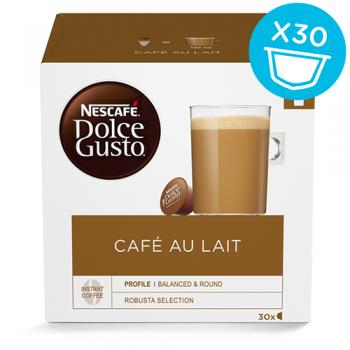 Dolce Gusto Café Au Lait - BIG PACK - 30 KAPSLER