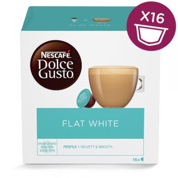 Dolce Gusto Flat White - 16 kapsler