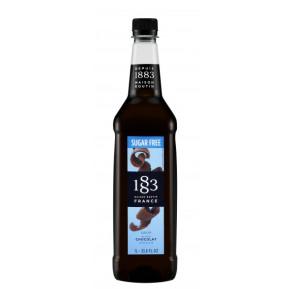 1883 Routin SUKKERFRI Kaffesirup (1 liter) - Chokolade
