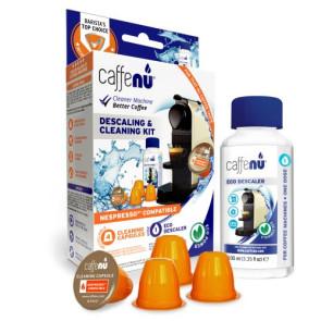 Caffenu Afkalknings- og rensningssæt - Nespresso kompatibel
