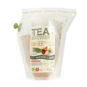 Tebrygger - Ginger & Lemon Økologisk *Urte te* Growers Cup