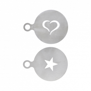 Kaffe Stensil Sølvfinish  - fra Nicolas Vahé