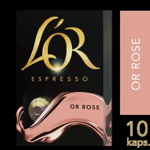 L'OR Espresso Or Rose - 10 kapsler Til Nespresso®
