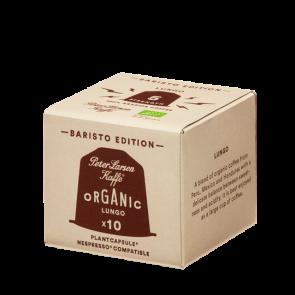 Peter Larsen Espresso Lungo økologisk - 10 kapsler til Nespresso®
