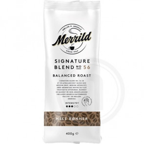Merrild Signature Blend No. 56 - 400g kaffebønner