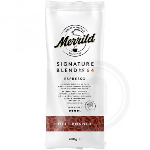 Merrild Signature Blend No. 64 - 400g kaffebønner