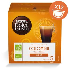 Nescafé Dolce Gusto Lungo Colombia økologisk