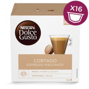 Dolce Gusto Cortado Espresso Macchiato pakke