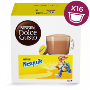 Dolce Gusto Nesquik chokolade pakke