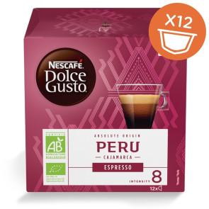 Nescafé Dolce Gusto Peru Espresso økologisk