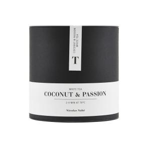 Hvid Te - Kokos & Passion 100g - fra Nicolas Vahé
