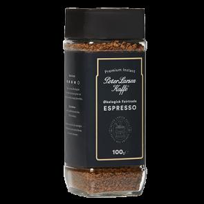 Espresso Instant kaffe økologisk - Peter Larsen