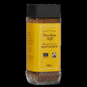 Koffeinfri Instant kaffe økologisk - Peter Larsen