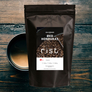 Kaffebønner - rist Honduras 1000g ØKO