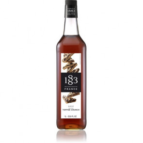 1883 Routin Sirup (1 liter) - Toffee Crunch