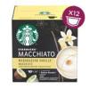 Starbucks Vanilla Macchiato Madagascar til Dolce Gusto - 12 kapsler