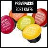 Prøvepakke - Sort Kaffe fra Dolce Gusto - 26 kapsler