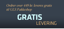 Kaffedeal leverer ordrer over 449 kr. gratis til GLS Pakkeshop
