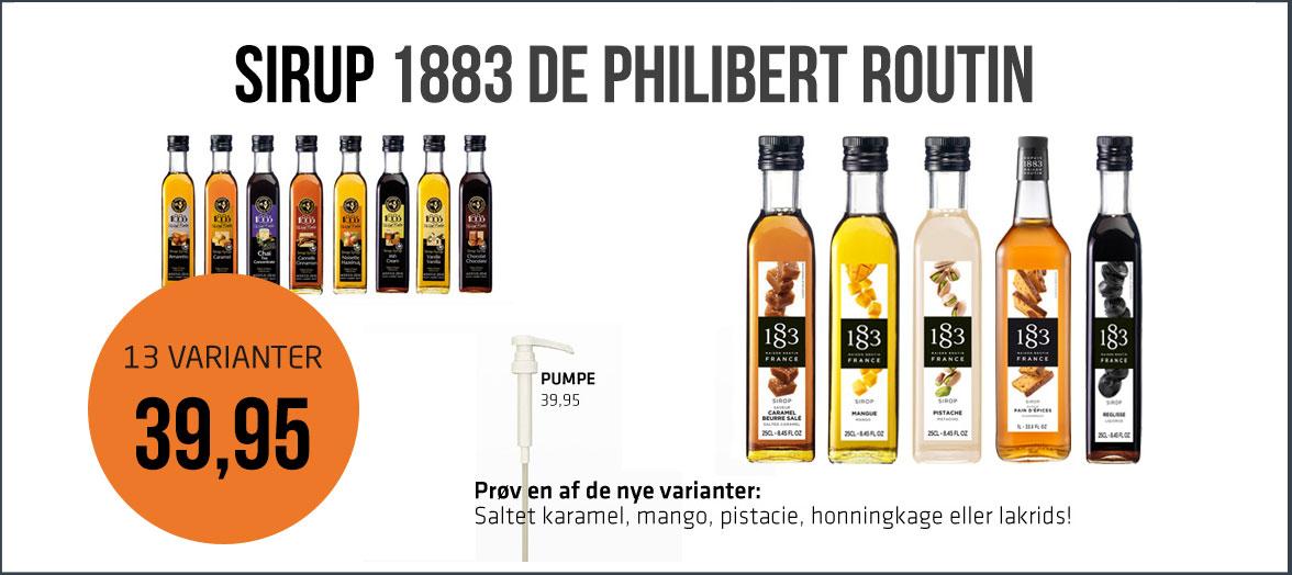 Køb sirup fra 1883 De Philibert Routin