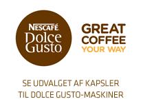 Kapsler til Nescafé Dolce Gusto