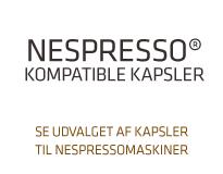 Kapsler til Nespresso